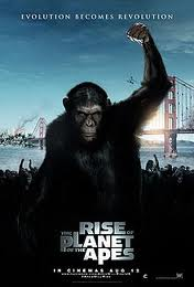 Постер к მაიმუნების პლანეტის აჯანყება - Rise of the Planet of the Apes - ქართულად