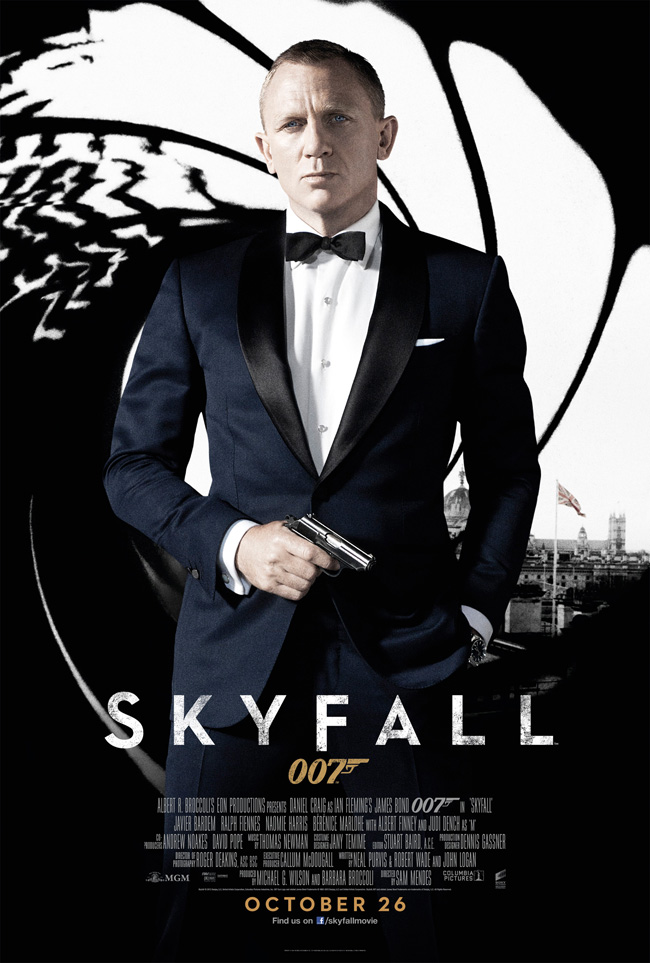 Постер к ჯეიმს ბონდი: ოპერაცია სქაიფოლი - James Bond: Skyfall